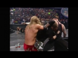 The Rock, Undertaker  Kane vs. Edge, Christian  Kurt Angle- SmackDown, February 22, 2001