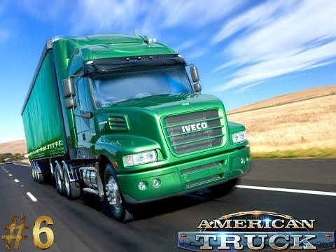 American Truck Simulator 6 Под музыку или просто отдых за баранкой