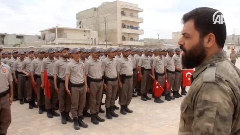 Турция обучила 200 полицейских в Сирии -