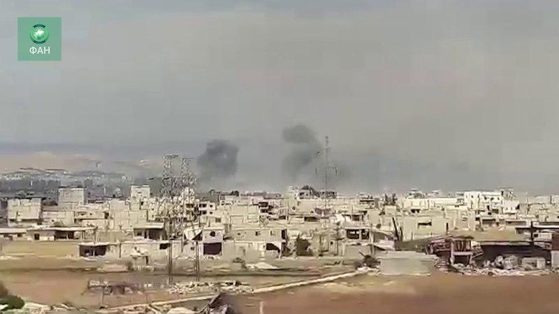 Сирия уничтожает ИГ в Дамаске корреспондент ФАН запечатлел боевые действия на юге столицы