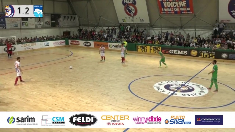 Italy League - Round 2 - Polisportiva Feldi Eboli 2x5 Pescara C5
