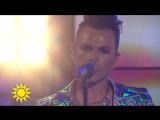 Ola SaloI Call Your Name-Nyhetsmorgon.(TV4)
