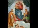 Копия картины Сикстинская мадонна . Холст/масло , 60х80 см.