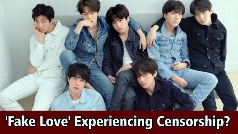 BTS 'Fake Love' Experiencing Censorship in Broadcasting US Radio Station