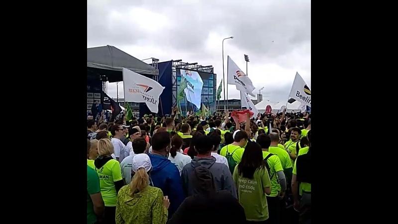 Стартовал Казанский марафон 2018
