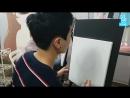 V LIVE 17.06.22 AlphaBAT - 알파벳 그림과 음악에 조예가 깊은 편이야~