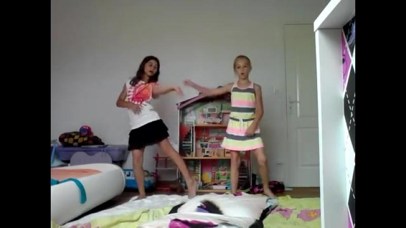 Gymnastique avec ma copine TAG♥♡
