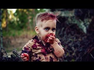 Зомби-фотосессия годовалого малыша