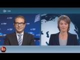 Marietta Slomka provoziert Alexander Dobrindt -CSU-- -Richtet sich Ihre Revolution gegen Merkel--