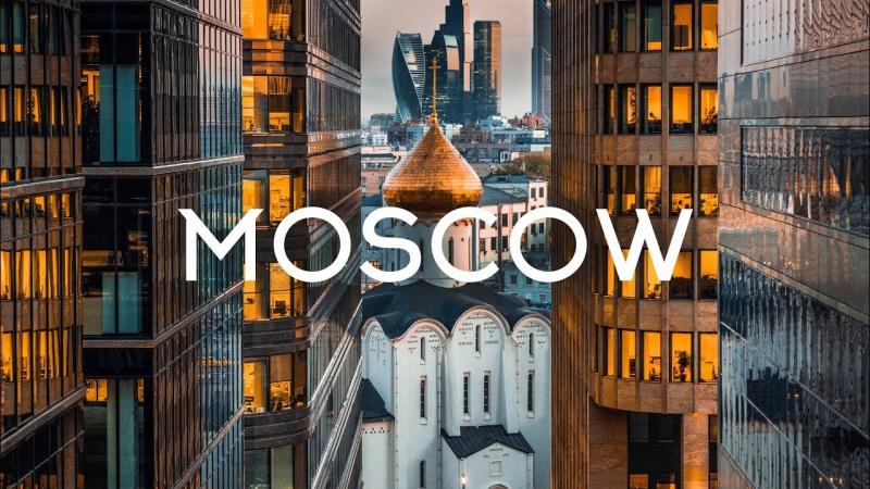 Moscow Russia Aerial ⁄⁄ Москва Россия Аэросъемка [1080p]