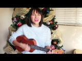 Укулеле-кавер песни All I want for Christmas is you ? (ukulele cover)