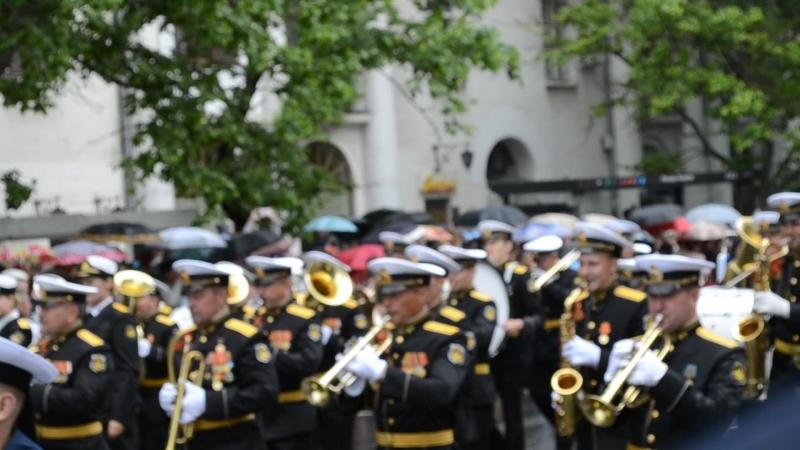 Парад на День победы в Севастополе 2018 год cевастополь парад барабанщики музыканты техника