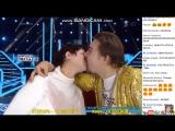 Гобзавр и Людмила Галина целуются в засос