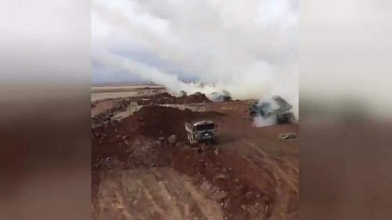 Turquía: cohetes turcos disparan contra objetivos kurdos en Afrin