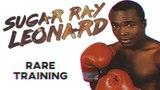Sugar Ray Leonard RARE Training In Prime