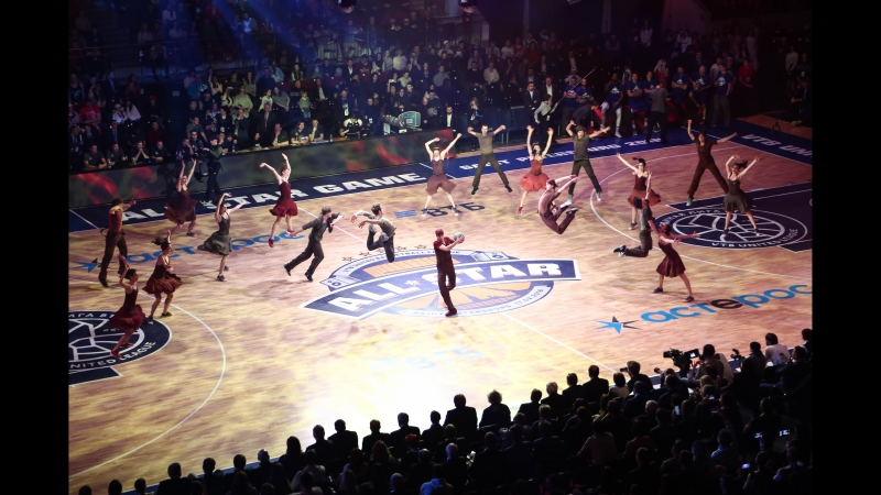 VTB League All Star Game 2018 Boris Eifman Ballet