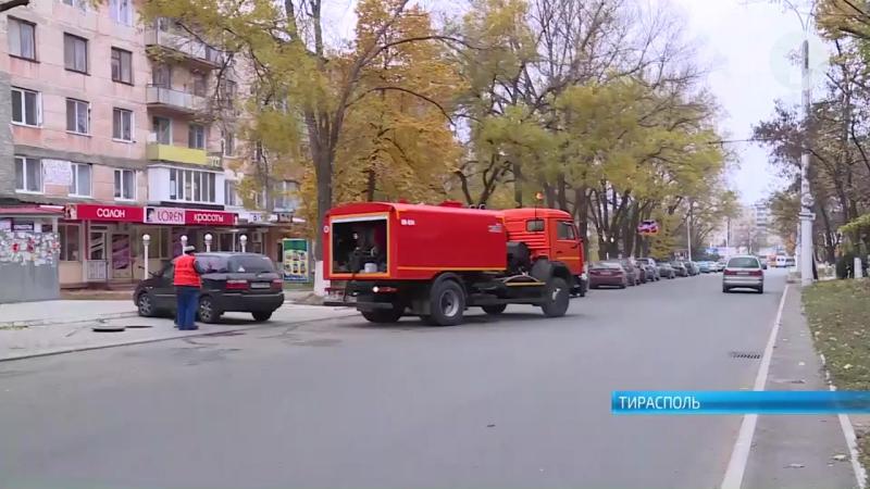 В Тирасполе появилась машина для чистки ливневых канализаций
