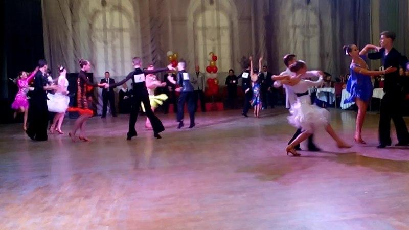 Спортивные бальные танцы Финал Джайв Юниоры 2 Латиноамериканская программа до Д класса