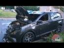 Палаючі автомобілі у Харкові за два дні дві пожежі