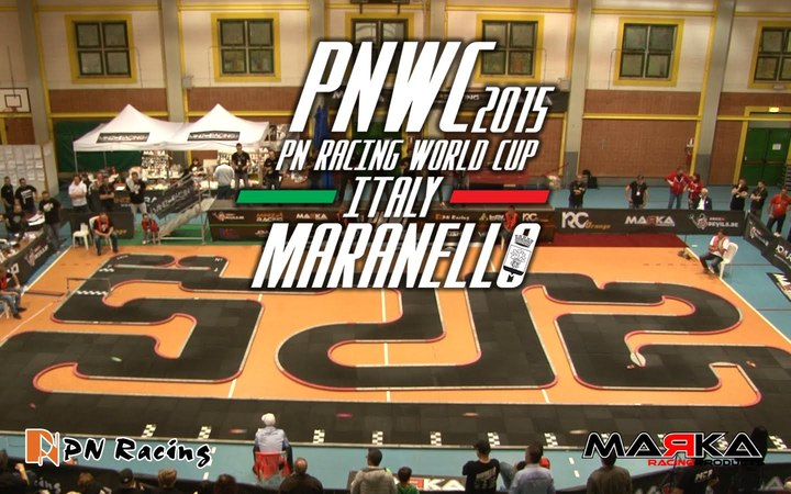 RC World Cup MiniZ Italy Maranello - GT Mod - Final Race 39 - PNWC 2015