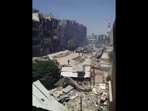 Дамаск свободен от боевиков так как SAA входит в лагерь Ярмук Хаджар Асвад и окрестности Тадамун
