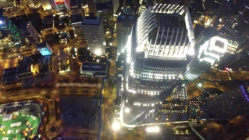 Гонконг (Hong Kong )_ (Сянган) С высоты птичьего полёта