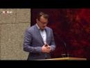 BREAKING: Dutch parliament horror as man plummets from balcony during MP's speech