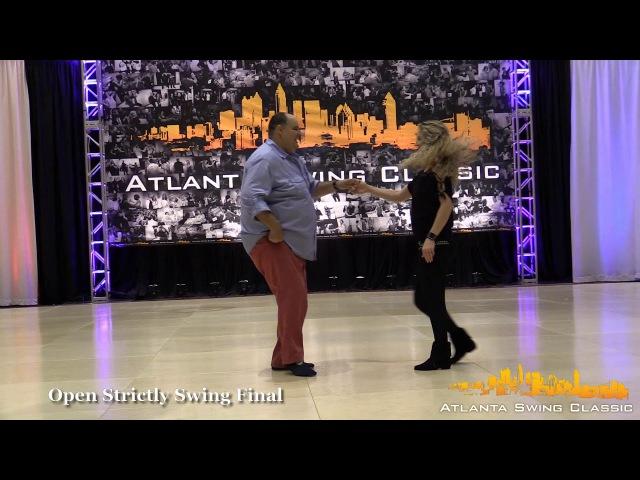 John Lindo and Tashina Beckmann - Atlanta Swing Classic Open Strictly Swing Final