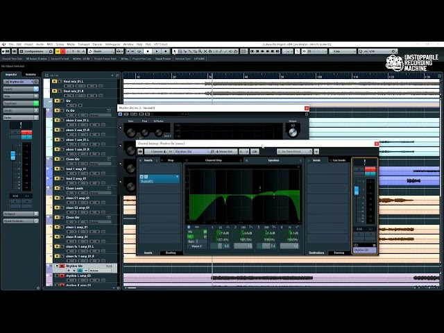 Mixing Metal Guitars part 2: EQing in the mix