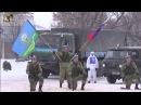 Показательные выступления 56 ой десантно-штурмовой бригады в городе Ряжске.