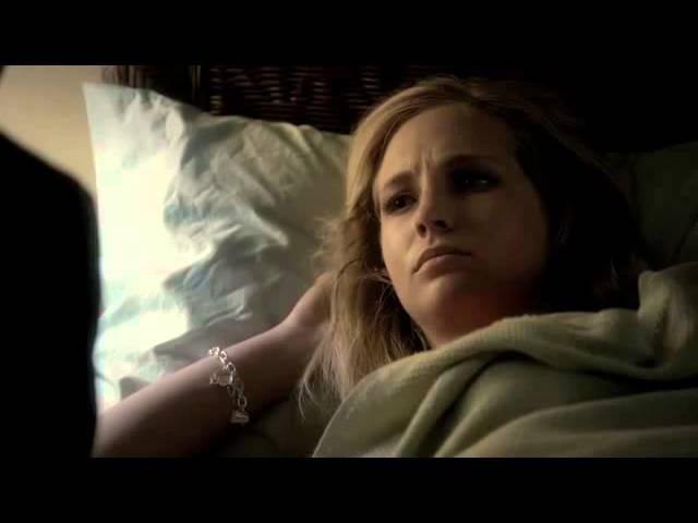 TVD 3X11 Klaus Caroline Klaus gives Caroline his blood to save her