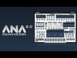 How To Use ANA 2 - Sound Design - 7. Mini Moog Style Lead