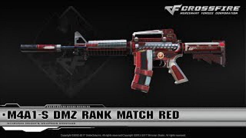 CrossFire China : M4A1-S DMZ Rank Match Red (Season 6)