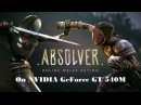 Absolver on NVIDIA GeForce GT 540M