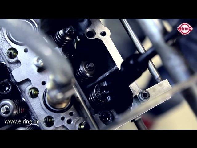 Технология замены маслосъемных колпачков Elring