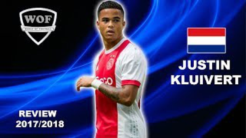 JUSTIN KLUIVERT Ajax Sublime Speed Goals Assists Skills 2017 2018 HD