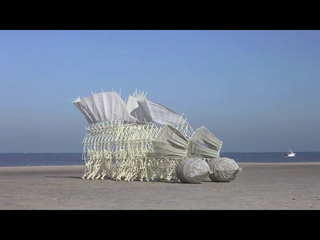 Strandbeest Кинетические скульптуры