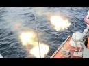 Демонстрация огневой мощи военно-морского флота России