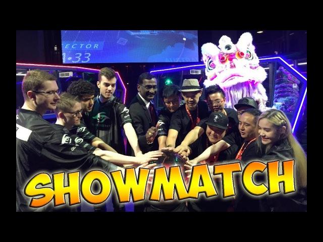 Team Puppey vs Team Chuan ShowMatch Battle Arena MY
