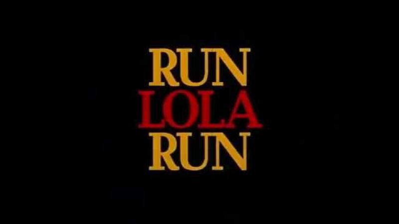 Беги, Лола, беги Run Lola Run 1998 трейлер