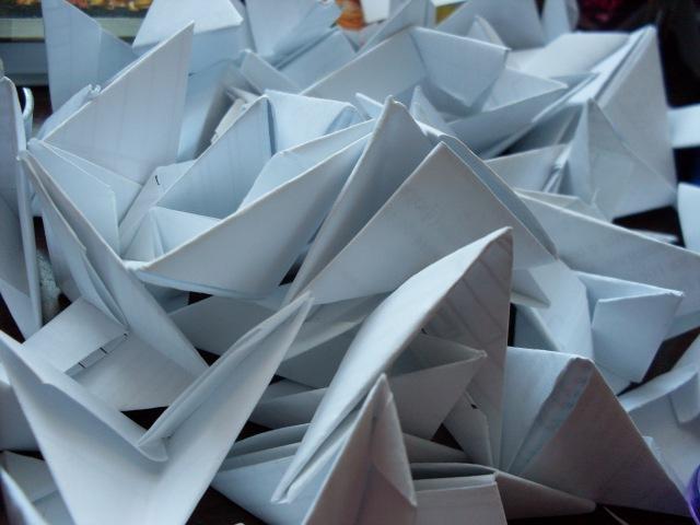 Как сделать треугольный модуль оригами