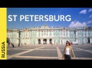 ST PETERSBURG RUSSIA tour the most famous attractions Vlog 2