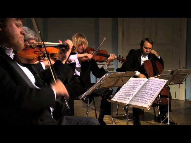 David Oistrakh Quartet plays Shostakovich string quartet No.3 Op. 73 , 3 mvt