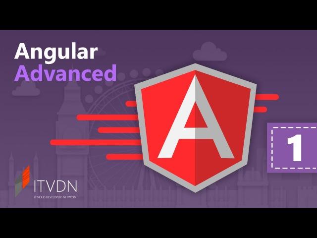 Angular Advanced. Урок 1. Пользовательские директивы и компоненты