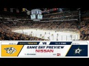 NHL 18 PS4. REGULAR SEASON: Dallas STARS VS Nashville PREDATORS. 10.12.2017. (NBCSN) !