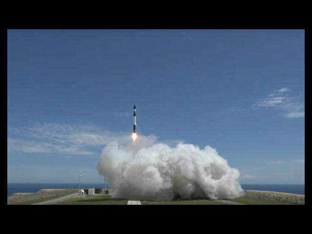 Новая частная космическая ракета успешно полетела в космос! [RocketLab Electron 2]
