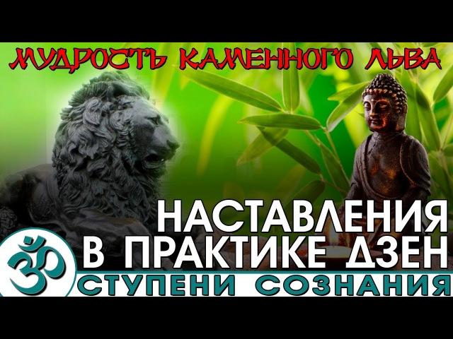 Мудрость каменного Льва Наставления в практике дзен Nikosho