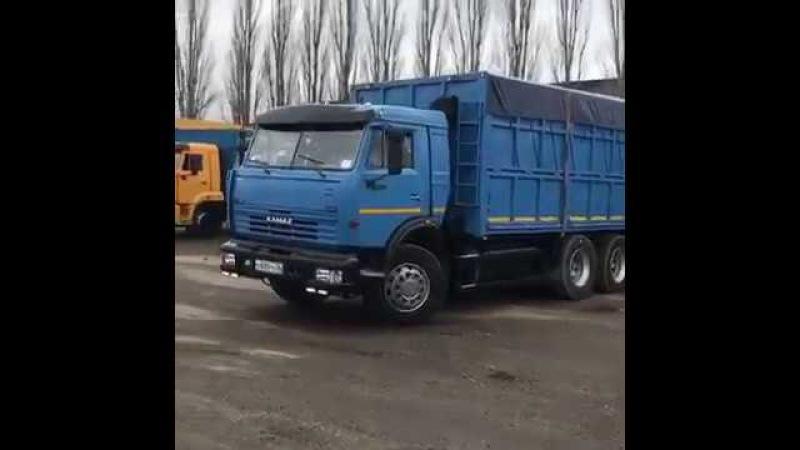 КамАЗ 53215 Зерновоз (Красавец уходит в рейс)