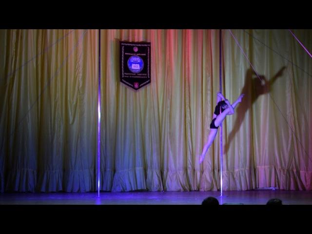 Нерознак Діана Олександрівна ZEBRA Pole Dance Studio POLE DANCE Юніори 12 17 років професіонали