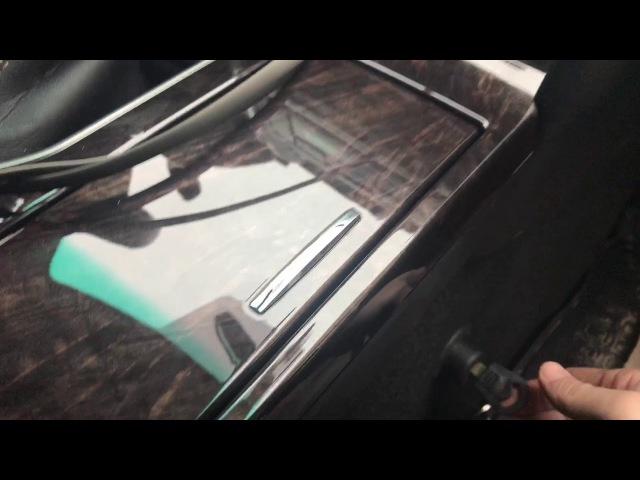 Toyota Camry дополнительный рубеж защиты от угона, механический замок АКПП Фортус (Mul-T-Lock)